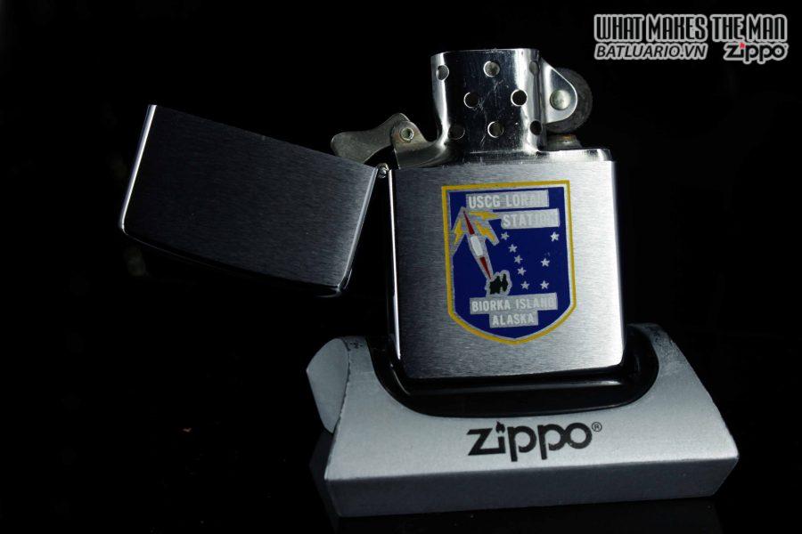 ZIPPO XƯA 1976 – USGC LORAN STATION 1