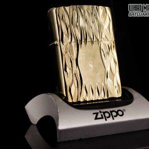 ZIPPO XƯA 1977 - GOLD PLATE GOLDEN ELEGANCE - MẠ VÀNG 22K