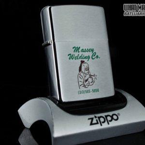 ZIPPO XƯA 1977 – MASSEY WELDING CO