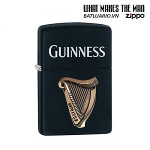 Zippo 29676 - Zippo Guinness Emblem Black Matte