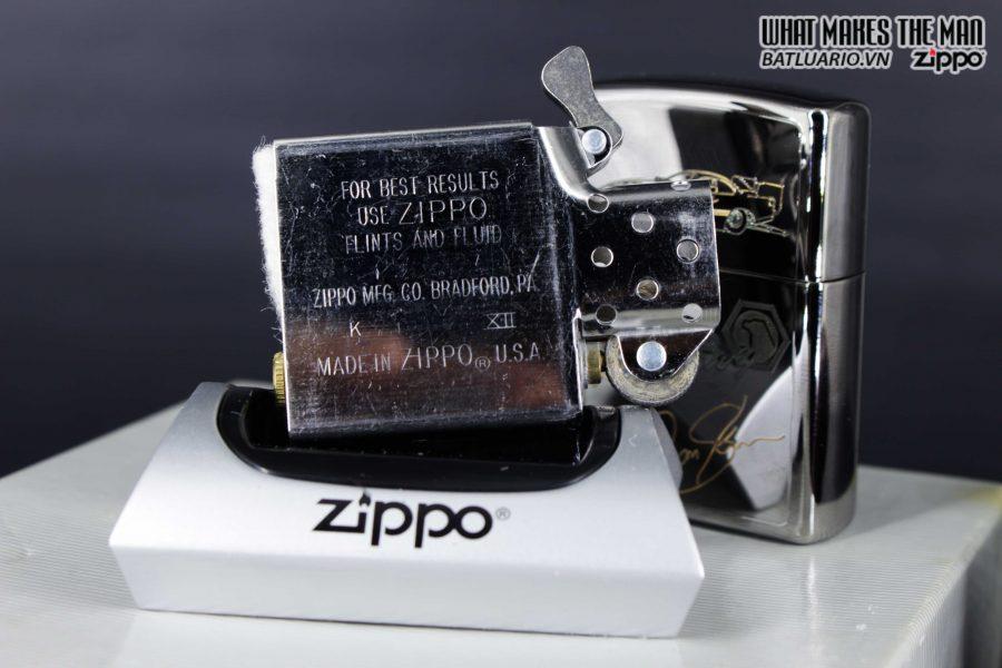 GIFT SET – ZIPPO LA MÃ 1995 – SILVER PLATE – MATCO TOOLS RACING 9