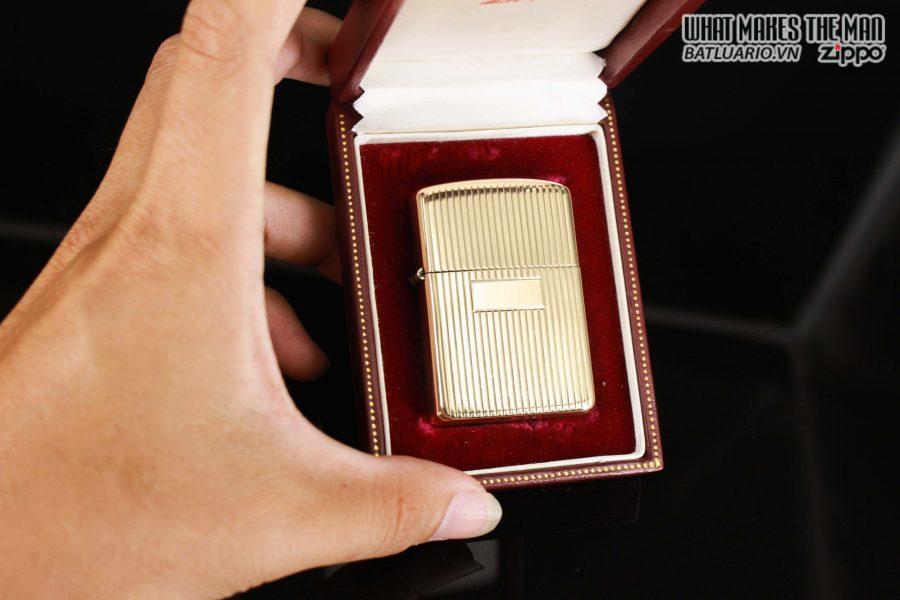 HIẾM – ZIPPO 1960 – 1970S – SOLID GOLD 14KT – VÀNG NGUYÊN KHỐI 1