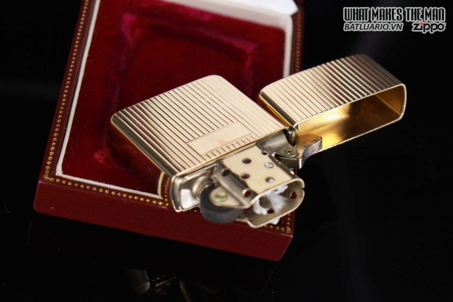 HIẾM – ZIPPO 1960 – 1970S – SOLID GOLD 14KT – VÀNG NGUYÊN KHỐI 16