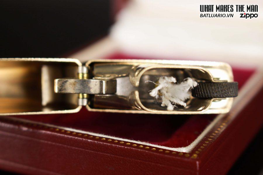 HIẾM – ZIPPO 1960 – 1970S – SOLID GOLD 14KT – VÀNG NGUYÊN KHỐI 18