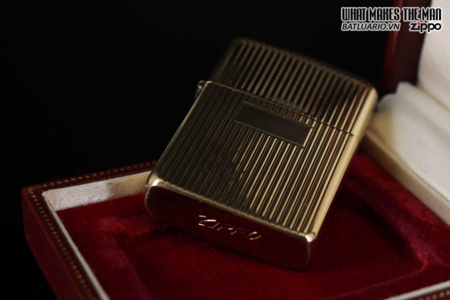 HIẾM – ZIPPO 1960 – 1970S – SOLID GOLD 14KT – VÀNG NGUYÊN KHỐI 2