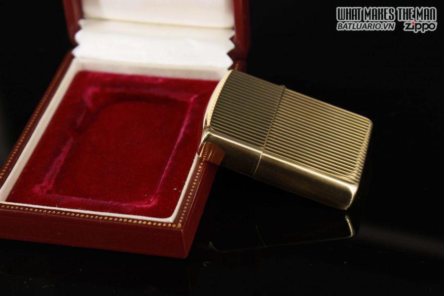 HIẾM – ZIPPO 1960 – 1970S – SOLID GOLD 14KT – VÀNG NGUYÊN KHỐI 6
