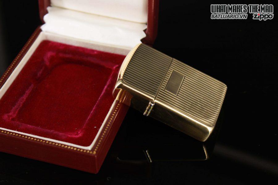 HIẾM – ZIPPO 1960 – 1970S – SOLID GOLD 14KT – VÀNG NGUYÊN KHỐI 7