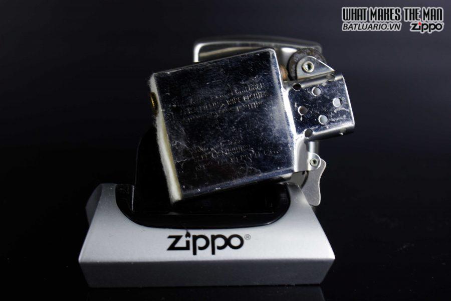HIẾM - ZIPPO LA MÃ 1990 - RODEO MARLBORO - STERLING SILVER - LIMITED / 3000 2