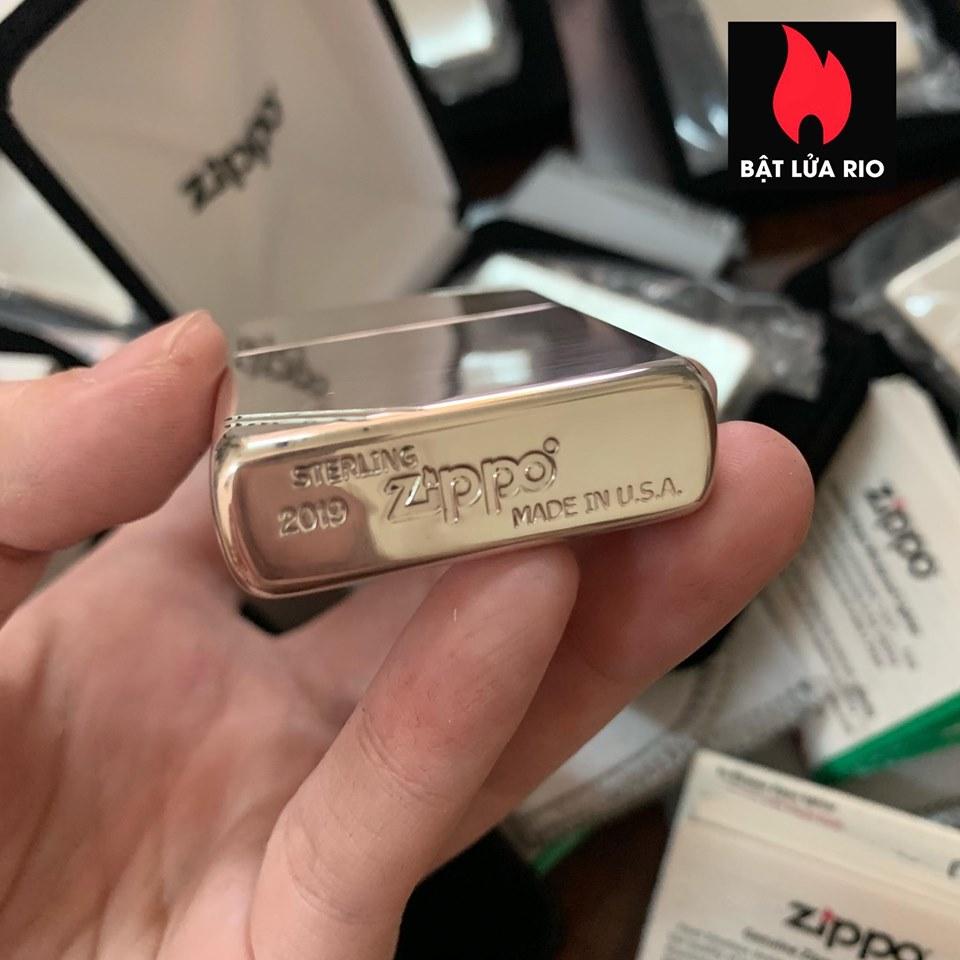 Zippo 14 - Zippo Vintage Sterling Silver 4