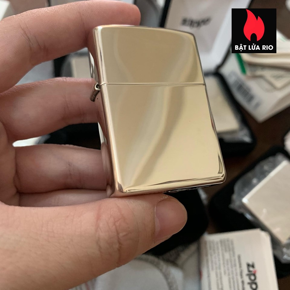 Zippo 15 - Zippo High Polish Sterling Silver 4