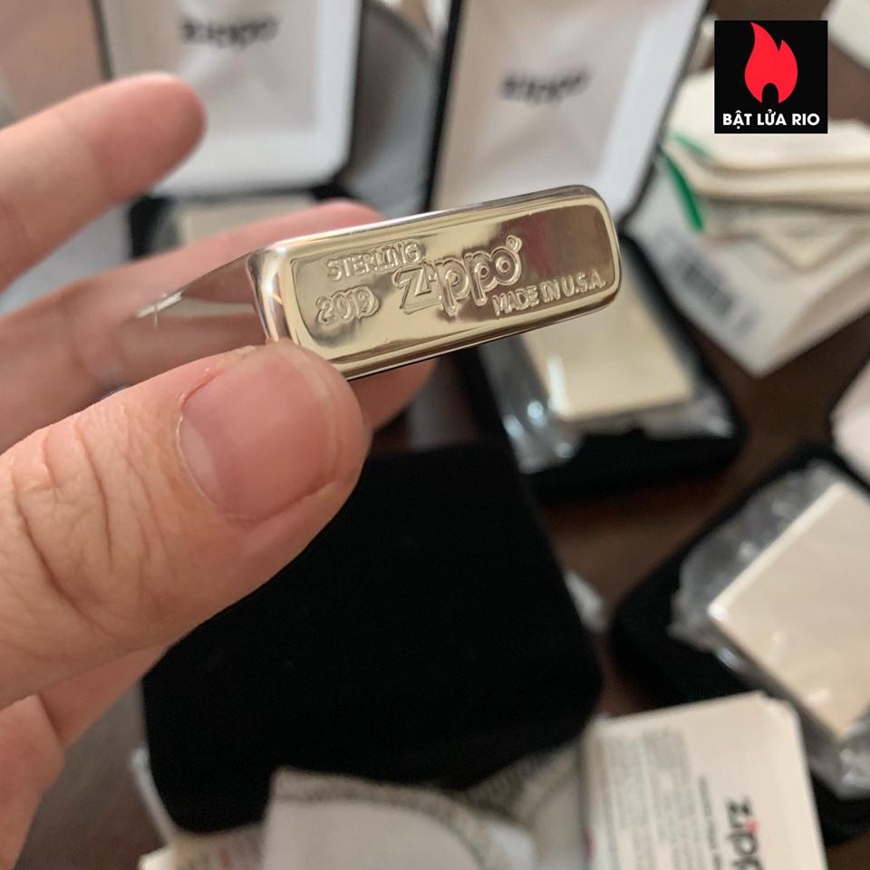 Zippo 15 - Zippo High Polish Sterling Silver 7