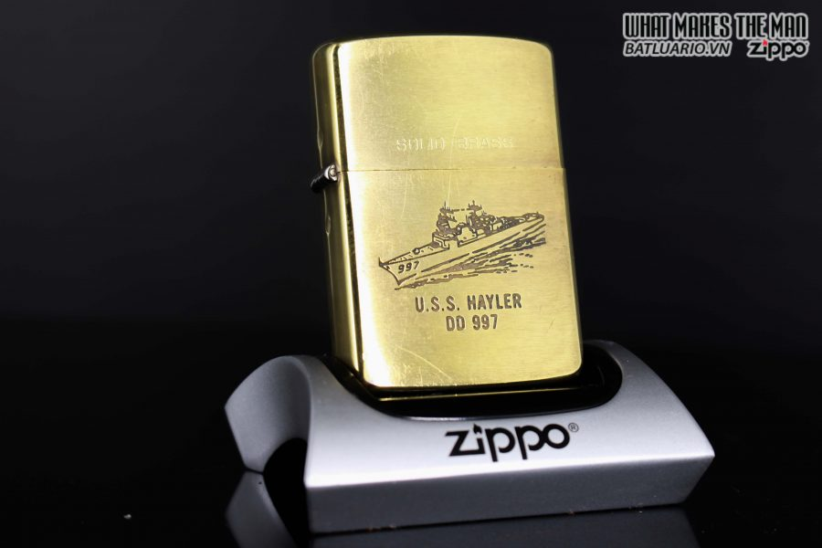 ZIPPO 1932 – 1988 – USS HAYLER DD 997