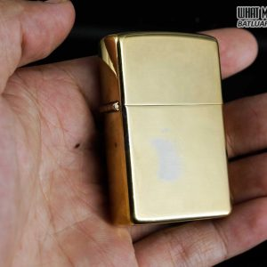 ZIPPO 1981 – HIGH POLISHED GOLD PLATE – MẠ VÀNG