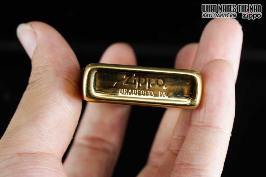 ZIPPO 1981 – HIGH POLISHED GOLD PLATE – MẠ VÀNG 5