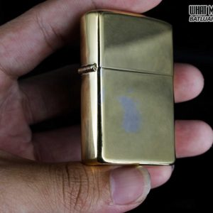 ZIPPO 1981 – HIGH POLISHED GOLD PLATE – MẠ VÀNG 9