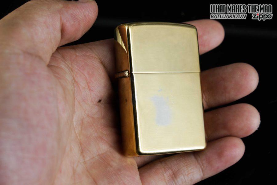 ZIPPO 1981 – HIGH POLISHED GOLD PLATE – MẠ VÀNG