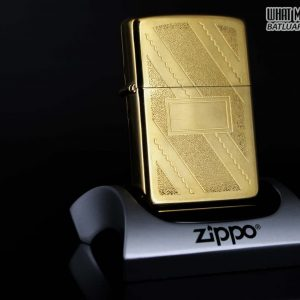 ZIPPO 1985 – GOLD PLATE GOLDEN ELEGANCE – MẠ VÀNG 22K