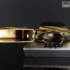 ZIPPO 1985 – GOLD PLATE GOLDEN ELEGANCE – MẠ VÀNG 22K 6