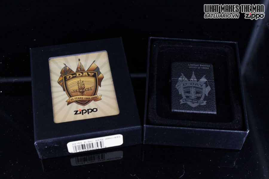ZIPPO 2009 – SANDS OF NORMANDY – D-DAY 65TH ANNIVERSARY COMMEMORATIVE LIGHTER 1
