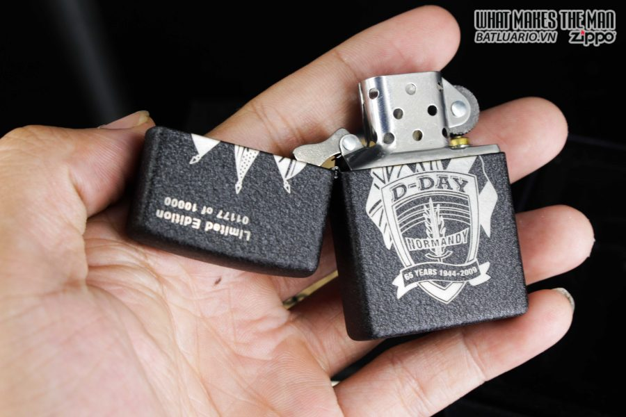 ZIPPO 2009 – SANDS OF NORMANDY – D-DAY 65TH ANNIVERSARY COMMEMORATIVE LIGHTER 7