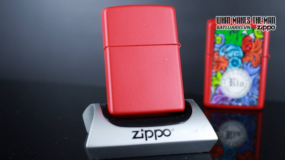 Zippo 29661 - Zippo Chinese Year of the Pig Red Matte 11