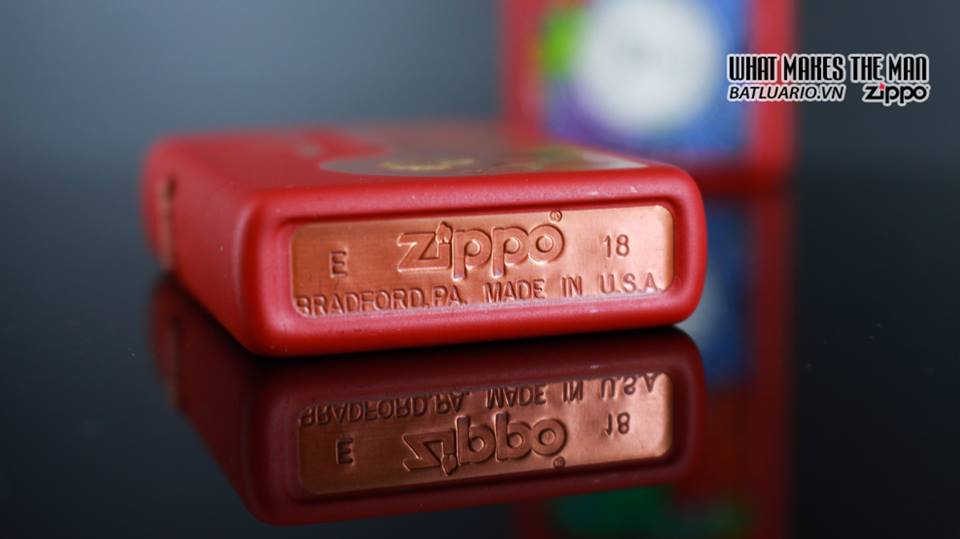 Zippo 29661 - Zippo Chinese Year of the Pig Red Matte 12