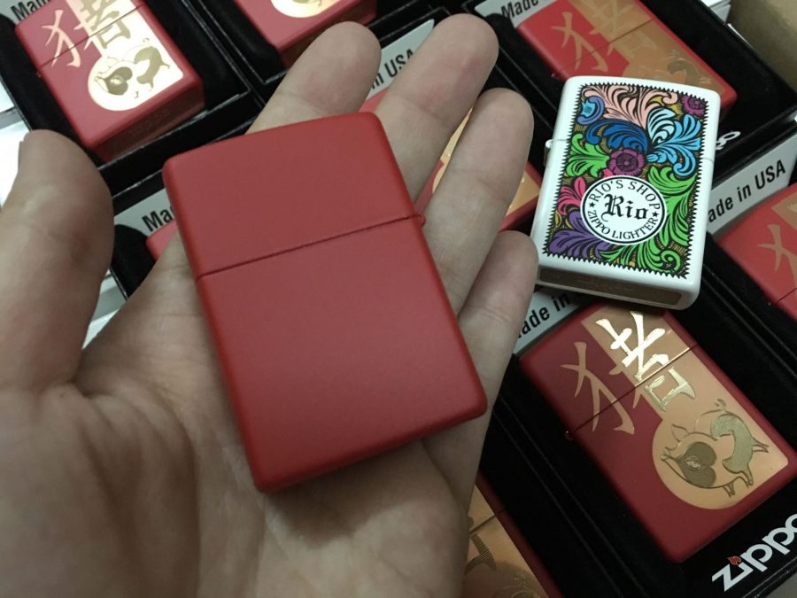 Zippo 29661 - Zippo Chinese Year of the Pig Red Matte 3