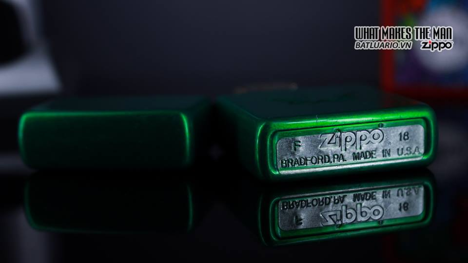 Zippo 29662 - Zippo Stamped Weed Leaf Meadow 10