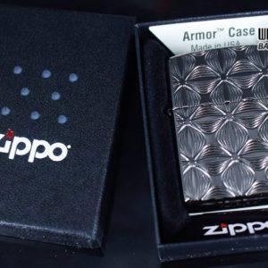 Zippo 29665 - Zippo Armor Flower Pattern Black Ice 6