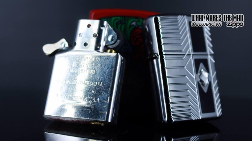 Zippo 29669 - Zippo Armor Deep Carve and Crystal High Polish Chrome 12