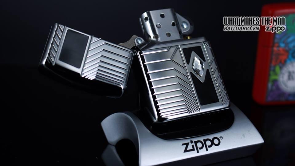 Zippo 29669 - Zippo Armor Deep Carve and Crystal High Polish Chrome 8