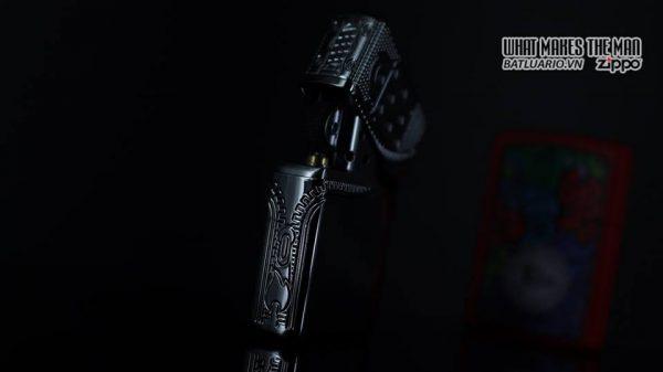 Zippo 29674 - Zippo Armor Multicut Insert Zipper High Polish Chrome 15