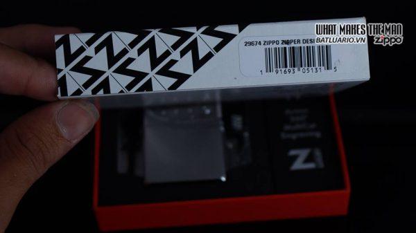 Zippo 29674 - Zippo Armor Multicut Insert Zipper High Polish Chrome 8