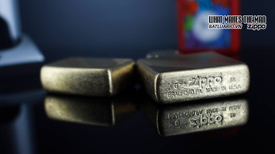 Zippo 29675 - Zippo Diagonal Weave Brass 14