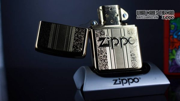 Zippo 29677 - Zippo Engraved Pattern High Polish Brass 11
