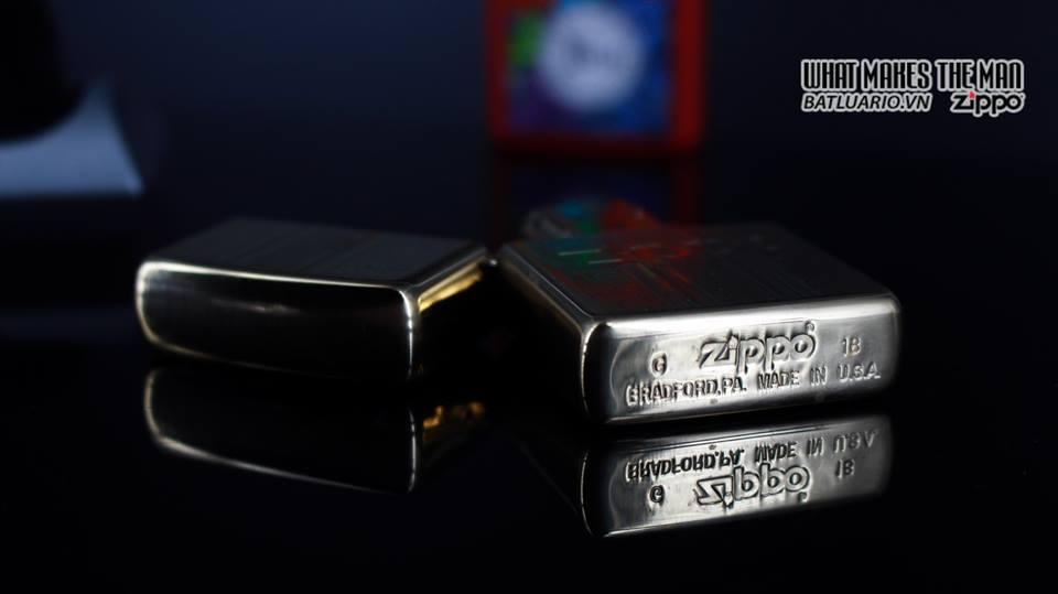 Zippo 29677 - Zippo Engraved Pattern High Polish Brass 13
