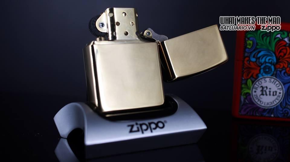 Zippo 29677 - Zippo Engraved Pattern High Polish Brass 14