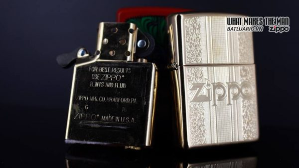 Zippo 29677 - Zippo Engraved Pattern High Polish Brass 15