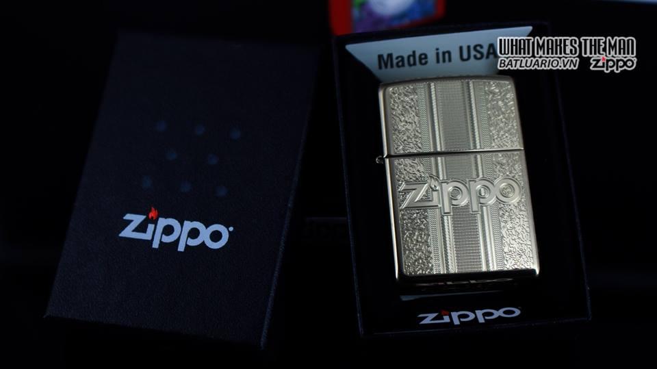 Zippo 29677 - Zippo Engraved Pattern High Polish Brass 8