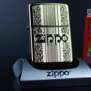 Zippo 29677 - Zippo Engraved Pattern High Polish Brass 9