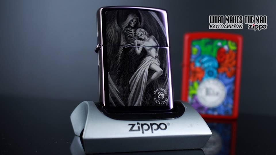 Zippo 29717 - Zippo Anne Stokes Skeleton Angel 7