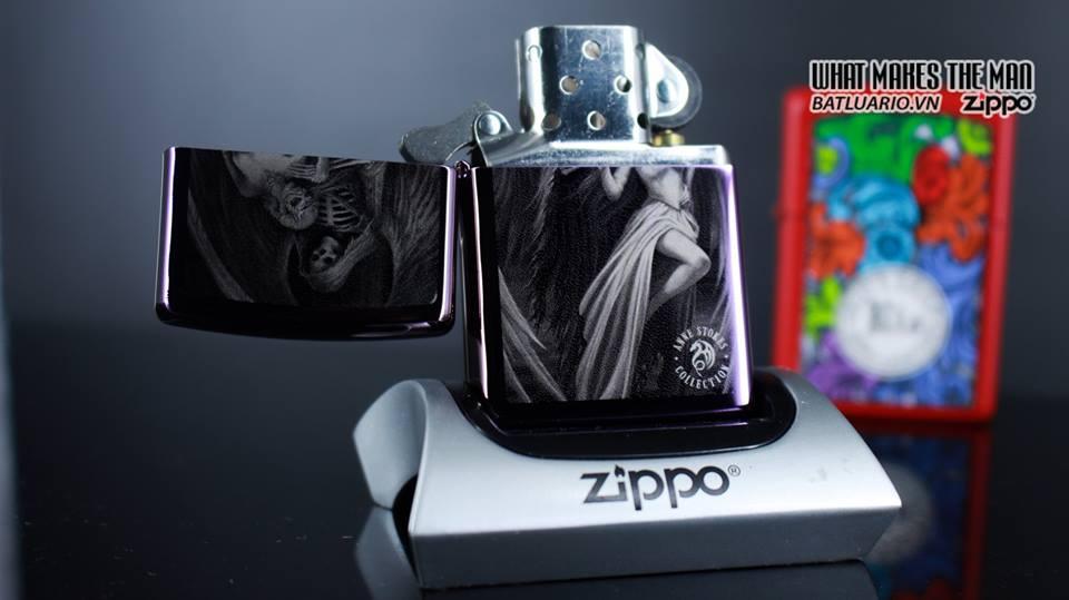 Zippo 29717 - Zippo Anne Stokes Skeleton Angel 8