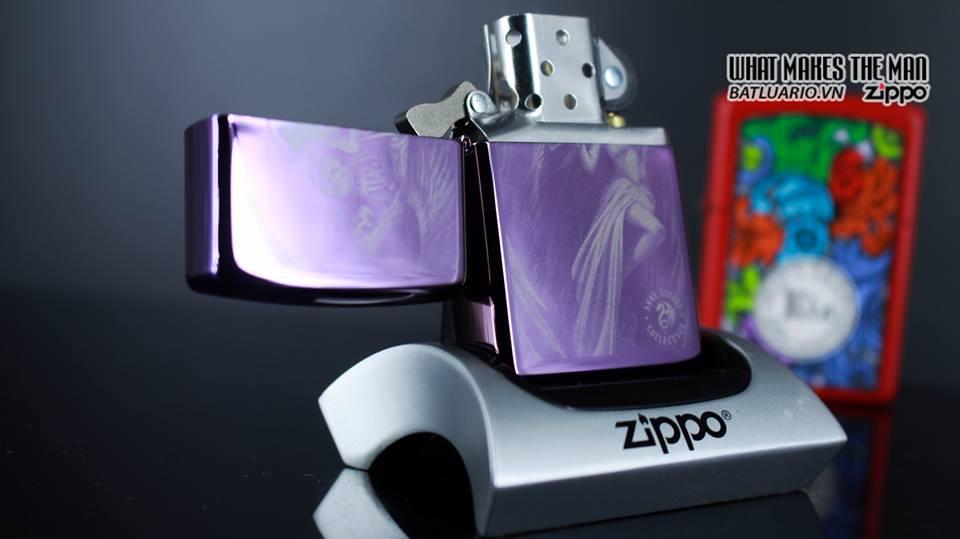 Zippo 29717 - Zippo Anne Stokes Skeleton Angel 9