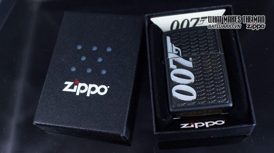 Zippo 29718 - Zippo James Bond 007 Emblem Black Matte 1