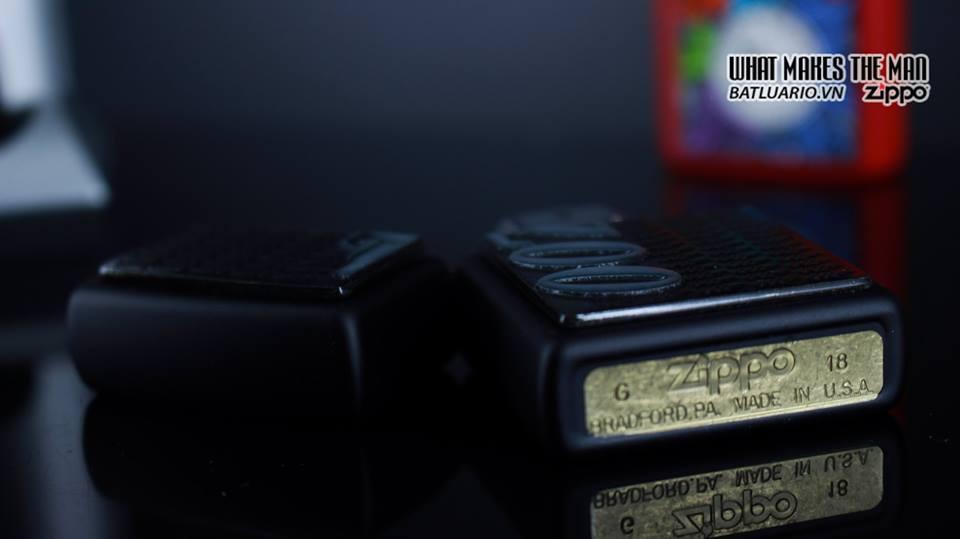 Zippo 29718 - Zippo James Bond 007 Emblem Black Matte 5