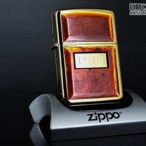 ZIPPO LA MÃ 1990 - GOLDEN TORTOISE – MẠ VÀNG 22K