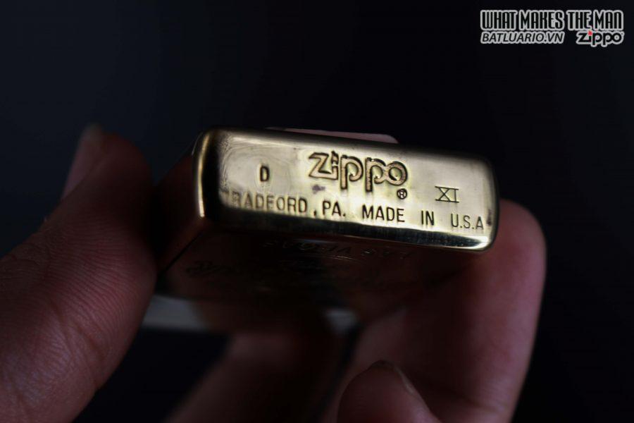 ZIPPO LA MÃ 1995 – HARD ROCK – LAS VEGAS – ĐỒNG NGUYÊN KHỐI 3