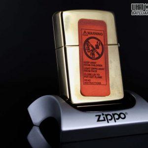 ZIPPO LA MÃ 1995 – HARD ROCK – LAS VEGAS – ĐỒNG NGUYÊN KHỐI 5