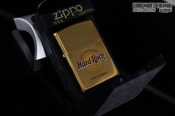 ZIPPO LA MÃ 1997 – CAFE HARD ROCK – ĐỒNG NGUYÊN KHỐI – MYRTLE BEACH 2