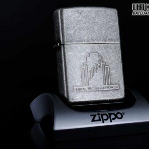 ZIPPO LA MÃ 1998 - ANTIQUE SILVER - BẠC GIẢ CỔ